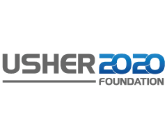 Usher 2020 foundation logo