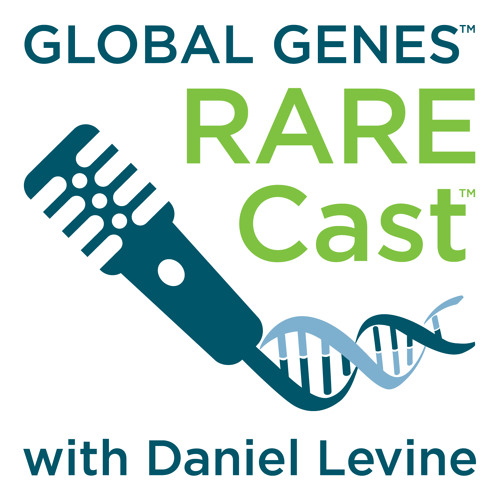 RARECast podcast with Daniel Levine Logo